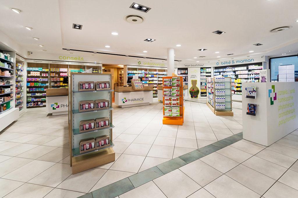 décoration d'intérieurs, photo industrie, agencement magasin photo Mulhouse