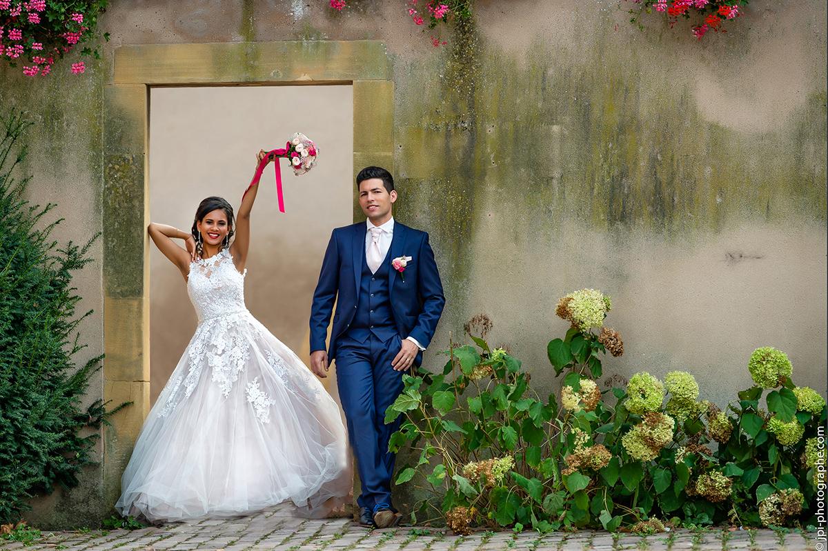 Photographe mariage Mulhouse portrait Alsace