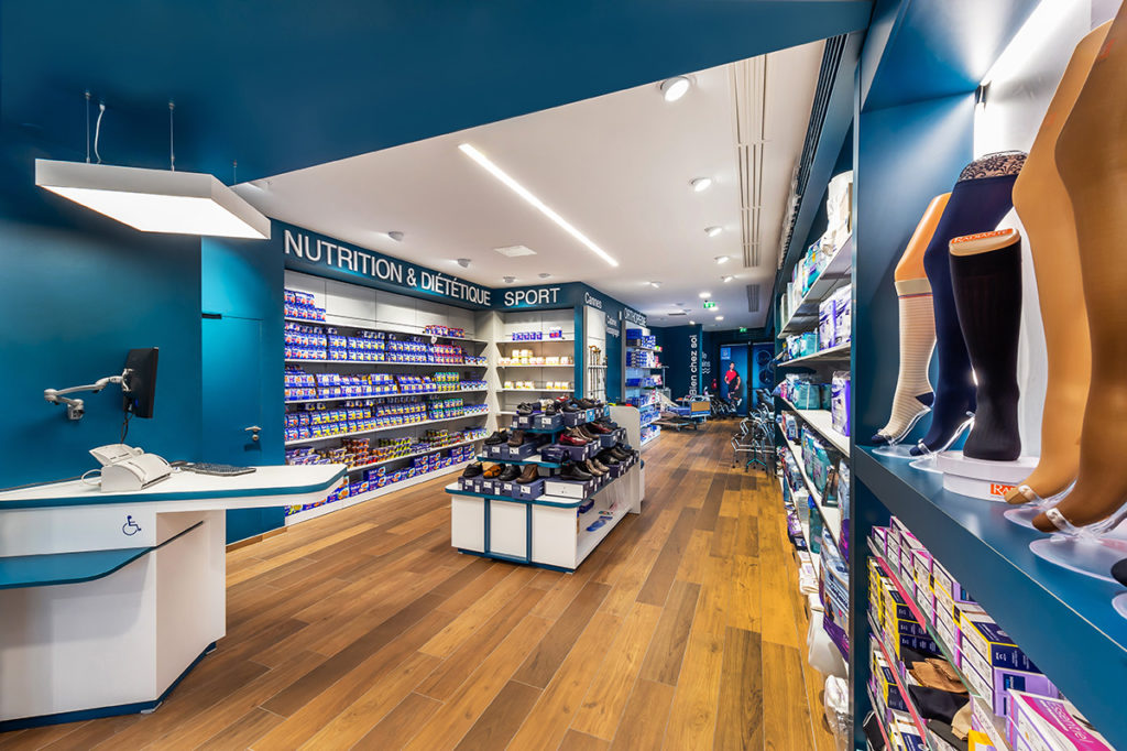 photo agencement intérieur magasin, photographe Mulhouse